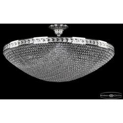 Люстры Большие Bohemia Ivele Crystal Люстра хрустальная 19321/80IV Ni