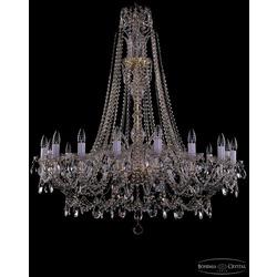 Люстры Bohemia Ivele Crystal Люстра хрустальная 1411/16/400/XL-115 G