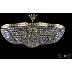 Люстры Большие Bohemia Ivele Crystal Люстра хрустальная 19281/90IV G