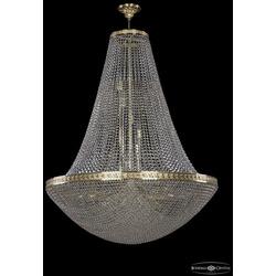 Люстры Большие Bohemia Ivele Crystal Люстра хрустальная 19321/H2/100IV G