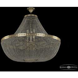 Люстры Большие Bohemia Ivele Crystal Люстра хрустальная 19051/H1/100IV G