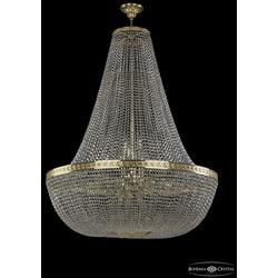 Люстры Большие Bohemia Ivele Crystal Люстра хрустальная 19051/H2/100IV G