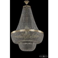 Люстры Bohemia Ivele Crystal Люстра хрустальная 19091/H2/80IV G