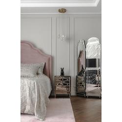Bohemia Empir Style Тумбочка зеркальная с ящиками