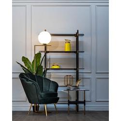 Bohemia Empir Style Кресло низкое велюровое зеленое