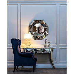 Bohemia Empir Style Кресло велюровое темно-синее