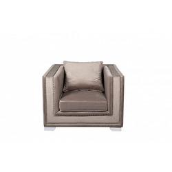 Bohemia Empir Style Кресло велюровое серое