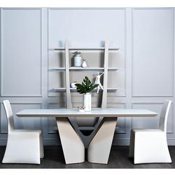 Bohemia Empir Style Стол обеденный Quadro белый