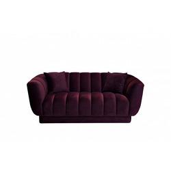 Bohemia Empir Style Диван двухместный велюровый темно-фиолетовый