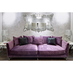 Bohemia Empir Style Диван трехместный велюровый фиолетовый