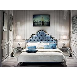 Bohemia Empir Style Кровать двуспальная с зеркальными вставками