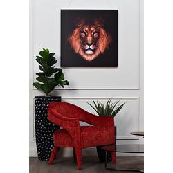 Bohemia Empir Style Кресло бархатное темно-красное