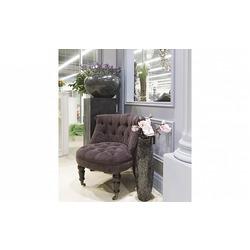 Bohemia Empir Style Кресло для гостиной низкое фиолетовое