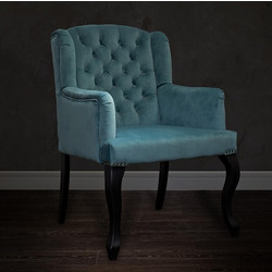 Bohemia Empir Style Кресло изумрудное мягкое