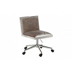 Bohemia Empir Style Кресло офисное велюровое серое