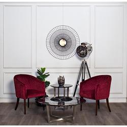 Bohemia Empir Style Кресло красное стеганное велюровое