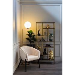Bohemia Empir Style Кресло низкое велюровое бежевое