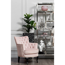 Bohemia Empir Style Кресло велюровое розовое