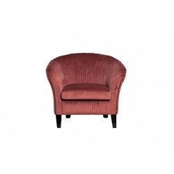 Bohemia Empir Style Кресло низкое велюровое темно-розовое