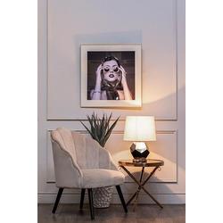 Bohemia Empir Style Кресло велюровое кремовое
