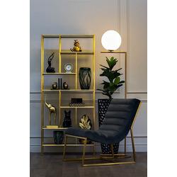 Bohemia Empir Style Кресло без подлокотников темно-серое