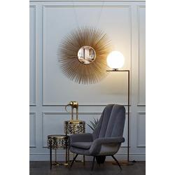 Bohemia Empir Style Кресло велюровое серо-голубое