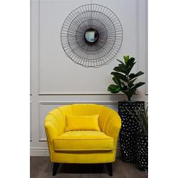 Bohemia Empir Style Кресло велюровое желтое