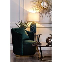 Bohemia Empir Style Кресло вращающееся зеленое велюровое