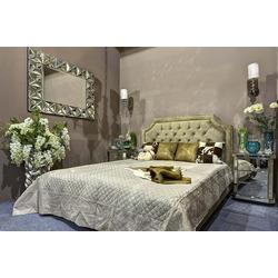 Bohemia Empir Style Кровать двуспальная бежевый бархат