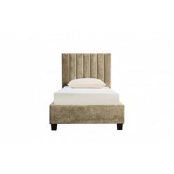 Bohemia Empir Style Кровать односпальная бархатная бежевая