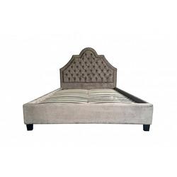 Bohemia Empir Style Кровать двуспальная с мягким изголовьем