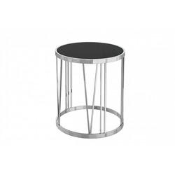 Bohemia Empir Style Столик из черного стекла круглый