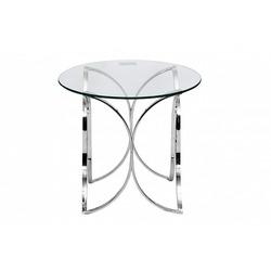 Bohemia Empir Style Столик стеклянный круглый