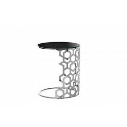 Bohemia Empir Style Столик приставной серебряный