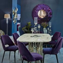Bohemia Empir Style Стул велюровый фиолетовый