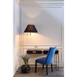 Bohemia Empir Style Стул велюровый синий