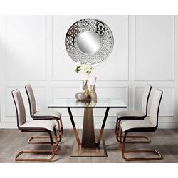 Bohemia Empir Style Стол обеденный со стеклом