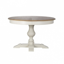 Bohemia Empir Style Стол обеденный (раскладной) белый