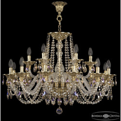 Bohemia Ivele Crystal Люстра хрустальная 16102/12+6/300 G R801