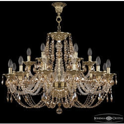Bohemia Ivele Crystal Люстра хрустальная 16106/12+6/300 G R721