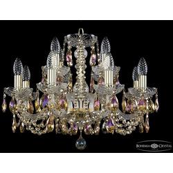 Bohemia Ivele Crystal Люстра хрустальная 1402/8+4/195 G R777