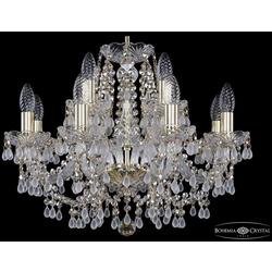 Bohemia Ivele Crystal Люстра хрустальная 1410/8+4/195 G V0300 R801