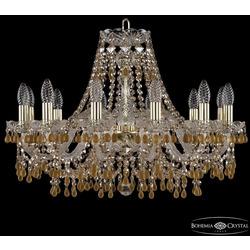 Bohemia Ivele Crystal Люстра хрустальная 1410/12/240 G V1003 R721