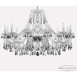 Bohemia Ivele Crystal Люстра хрустальная 1403/12/300 Ni K731