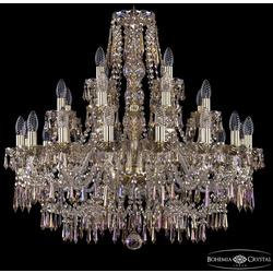 Bohemia Ivele Crystal Люстра хрустальная 1403/16+8+4/300 G M801