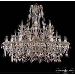Bohemia Ivele Crystal Люстра хрустальная 1411/20+5+5/400 G M801