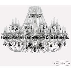 Bohemia Ivele Crystal Люстра хрустальная 1406/20+10/400 Ni K781
