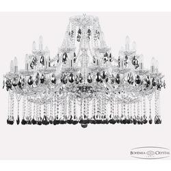 Bohemia Ivele Crystal Люстра хрустальная 1413/20+10/400 Ni K781