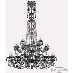 Bohemia Ivele Crystal Люстра хрустальная 1402/16+8+4/400/XL-160/2d Ni M731