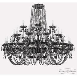 Bohemia Ivele Crystal Люстра хрустальная 1402/20+10+5/400 Ni M781